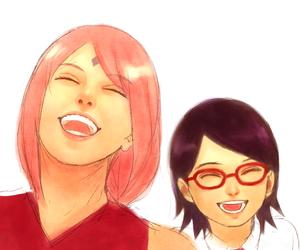 anime, sasusaku, and naruto shippuden image