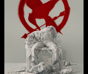 mockingjay, the hunger games, and snow image