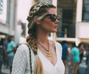 chanel, girl, and hair image