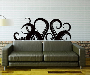 home decor, kraken, and octopus image