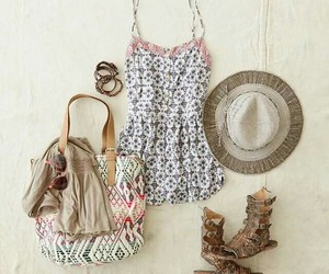accessories, dress, and shoes image