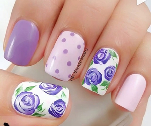 purple and rose image