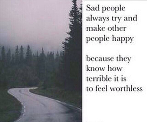 sad, people, and quote image
