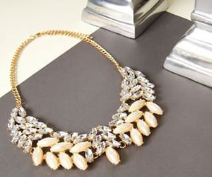 classy, preppy, and statement necklace image