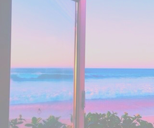 beach, blue, and filter image