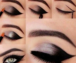 beauty, eye goals, and glam image