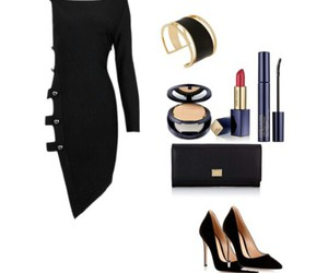 Dolce and Gabanna, dress, and estee lauder image