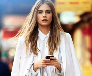 model, white, and cara delevingne image