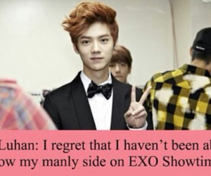 exo, luhan, and lu han image