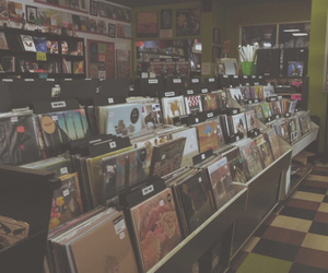 music, grunge, and records image