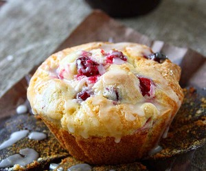 cranberry, breakfast, and delicious image