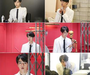 jin, bts, and dope image