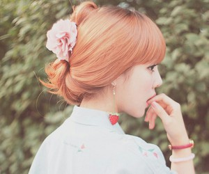 girl, ulzzang, and beautiful image