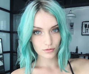 aesthetic, beauty, and blue eyes image