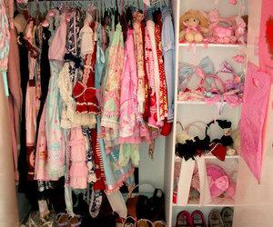 closet, design, and fashion image