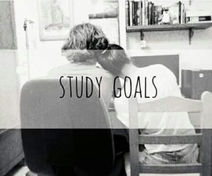 goals, study, and love image