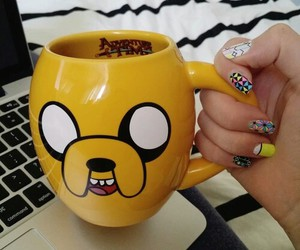 cup, JAKe, and nails image