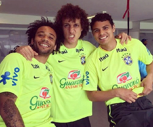 thiago silva, david luiz, and marcelo image