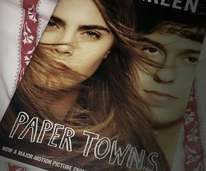 john green, paper towns, and Q image