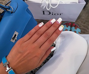 nails, style, and dior image
