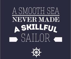 inspire, navy, and quotes image