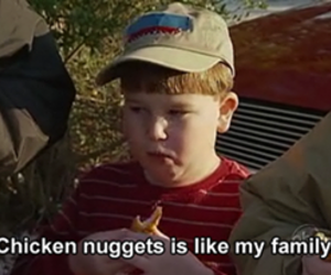 funny, food, and chicken nuggets image