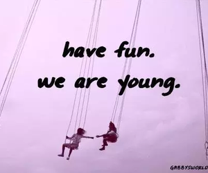 young, fun, and friends image