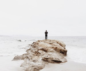 beach, indie, and white image
