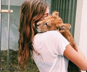 girl, animal, and cute image