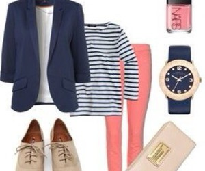 outfit, fashion, and preppy image