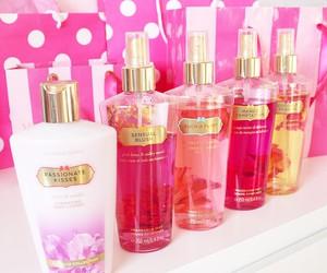 Victoria's Secret, pink, and cosmetics image