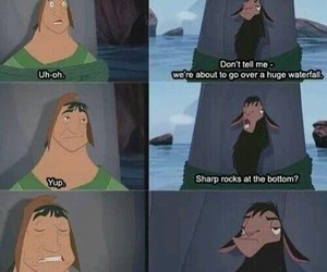 funny, disney, and the emperor's new groove image