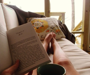 reading, beautiful, and books image