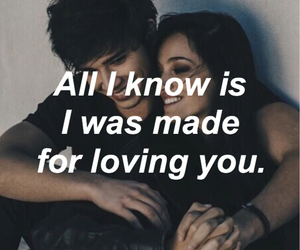 couples, grunge, and love quotes image