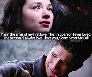 teen wolf, scott, and scallison image