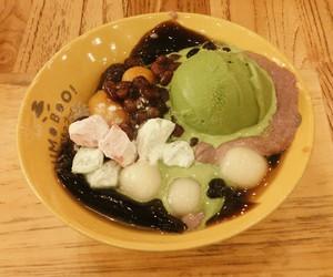 dessert, ice cream, and yummy image