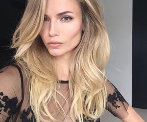 blonde, model, and Natasha Poly image