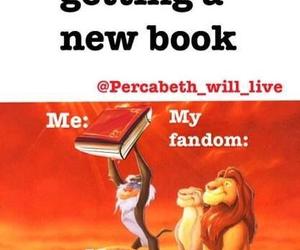 book, fandom, and funny image