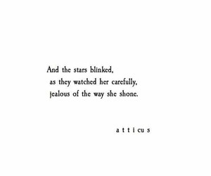 jealous, stars, and watched image