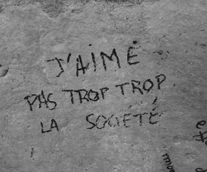 french, wall, and grunge image