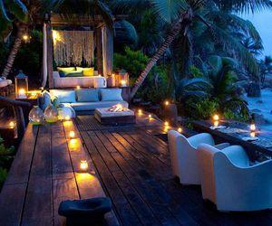 luxury, paradise, and place image
