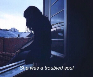 grunge, sadness, and soul image