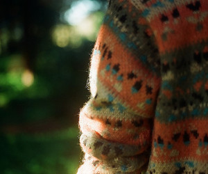 cardigan, photography, and sweater image