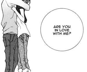 love, manga, and hug image