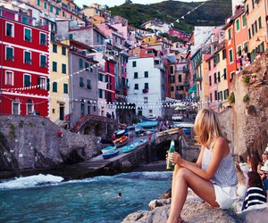 travel, summer, and city image