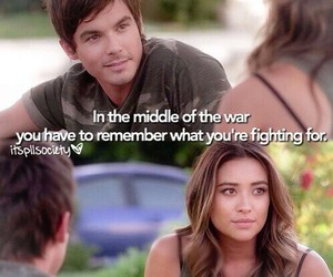 caleb, pll, and pretty little liars image