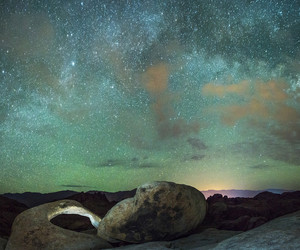 astronomy, clouds, and galaxy image