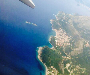 awesome, plane, and Montenegro image