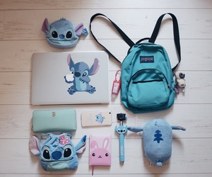 adorable, blue, and bag image