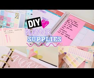 diy, planner, and youtube image